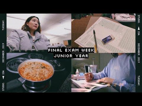 finals week study
