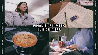 finals week study vlog // pre-med neuroscience → fall 2019