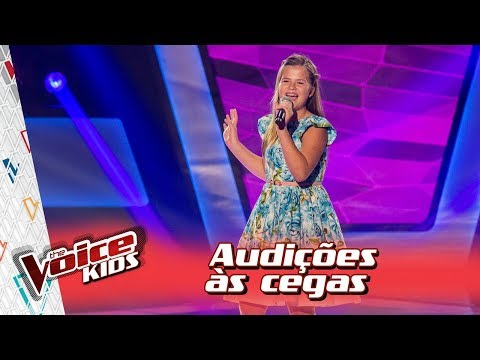 Fabiana Moneró canta 'Will I See You' na Audição – 'The Voice Kids Brasil' | 3ª Temporada