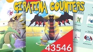 TOP GIRATINA COUNTERS TO BEAT THE GHOST DRAGON LEGENDARY in Pokemon Go