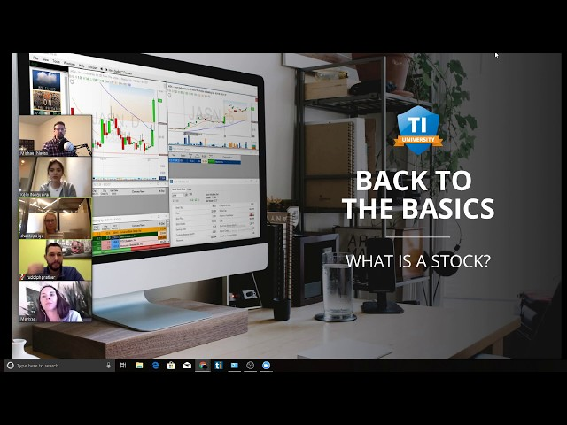 Back to Basics: Lesson #2 What is a stock