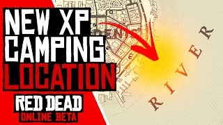 NEW XP CAMPING LOCATION in Red Dead Redemption 2 Online (XP RDR2 Online)