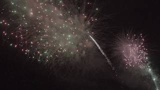 Coney Island Fireworks Postcard Video