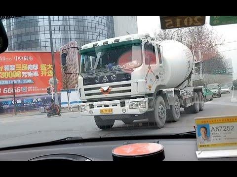 중국 택시 모음(Taxi Ride in Hefei & Qingdao China) - 2015.03