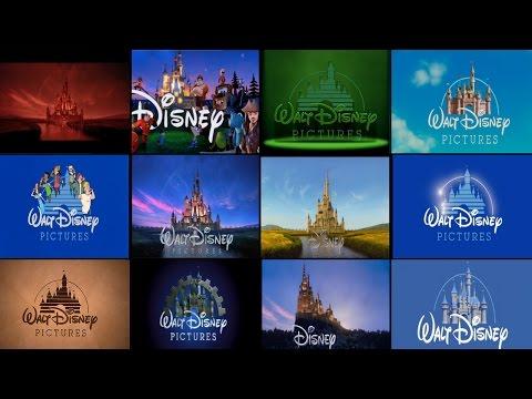 Tutte le varianti del LOGO Disney negli INTRO