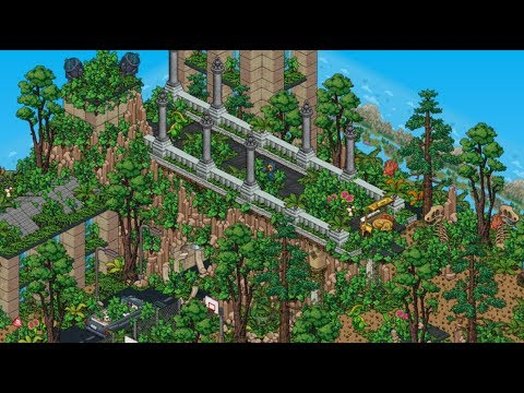How To BUILD A Habbo Jurassic World!!