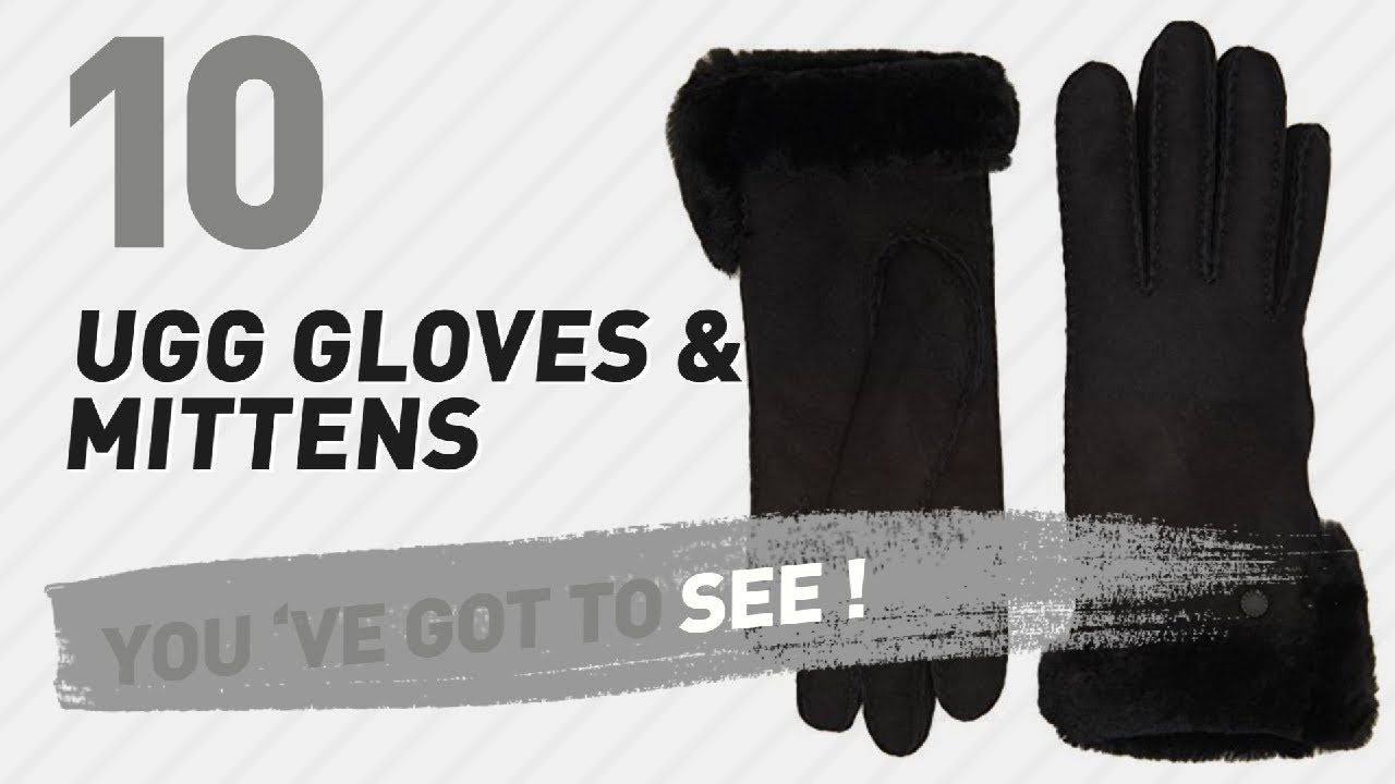 3115b43b57d UGG Gloves & Mittens // New & Popular 2017