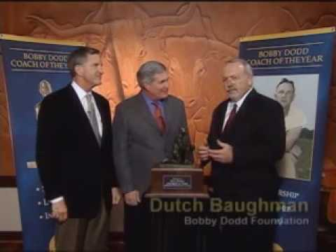 2008 Bobby Dodd Coach of the Year - Coach Mack Brown - University of Texas