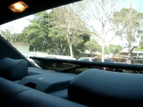 Mercedes S420 Electronic Rear Window Sun Shade Youtube