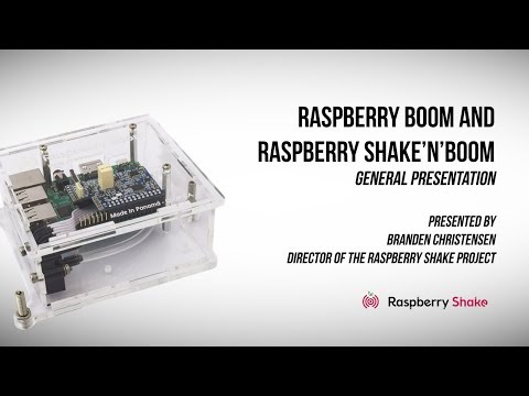 Raspberry Boom Detects Low Frequency Sounds Using Raspberry Pi Base