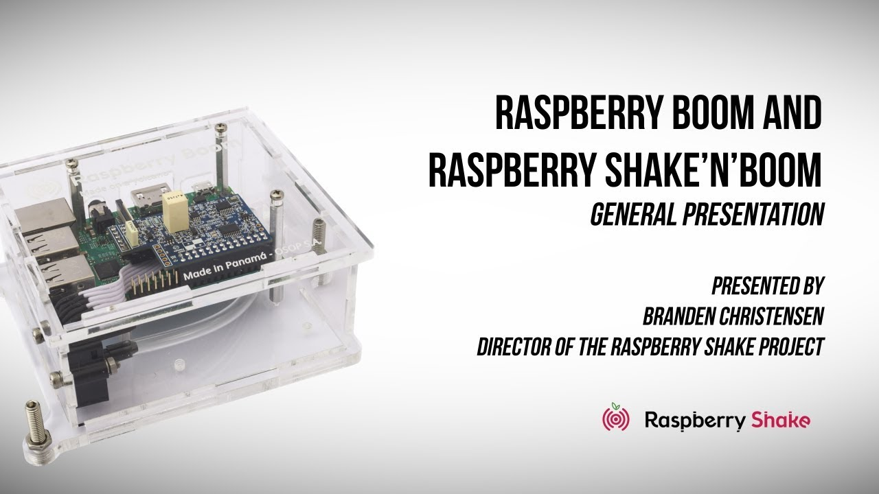 Raspberry Boom Detects Low Frequency Sounds Using Raspberry