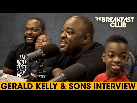 Gerald Kelly & Isiah Kelly Talk Family Matters, A Netflix Special + More