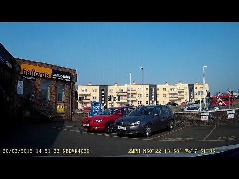 Dashcam shows Halfords mechanic take customer's car for joyride
