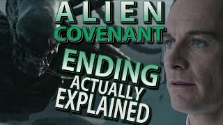 Alien Covenant Twist Ending Actually Explained Breakdown And Recap
