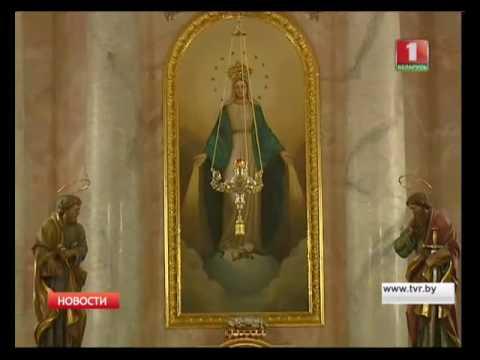 Новый посол Ватикана Габор Пинтер возглавил службу в костеле Пресвятой Девы Марии
