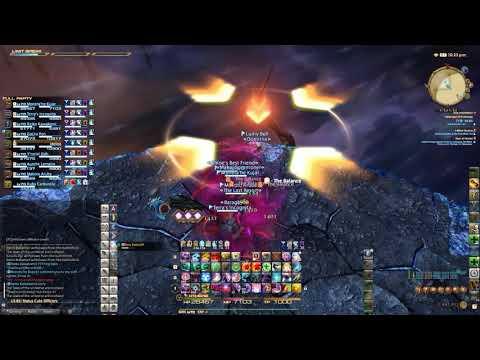 Final Fantasy XIV - Omega V4.0 Savage - Summoner PoV [Patooties]