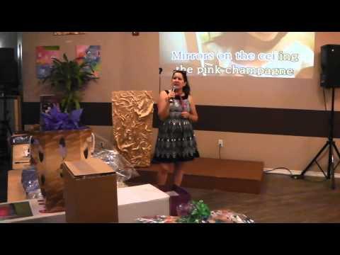 Vivian Omar singing Karaoke (Hotel Califonia)
