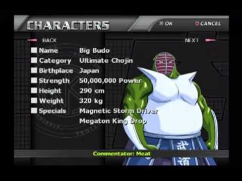 Galactic Wrestling feat. Ultimate Muscle - All Characters