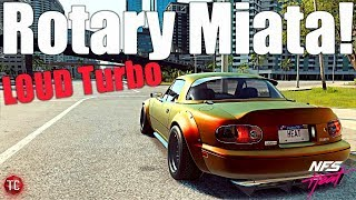 Need For Speed Heat: ROTARY SWAPPED MIATA BUILD! LOUD TURBO SOUNDS! Xbox One/PS4/PC Gameplay