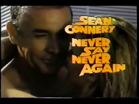 Never Say Never Again | Official TV SPOT | 1983 | Sean Connery as James Bond 007