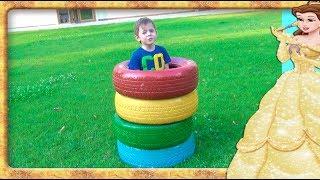 Invatam culorile in Romana.  Anabella Show. Video educativ pentru copii.