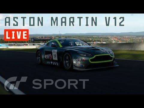 GT Sport - Aston Martin V12 Vantage GT3 - Mount Panorama