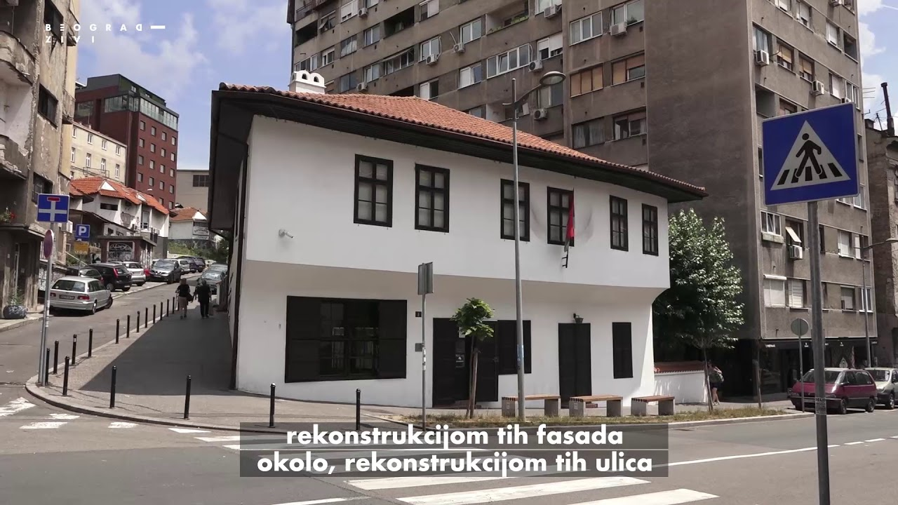 Beograd Zivi Rekonstrukcija Ulice Kraljevica Marka Youtube