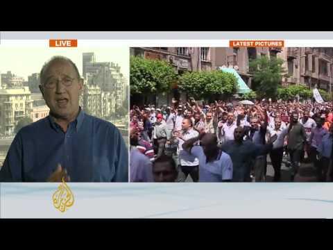 Al Jazeera's Mike Hanna reports from Cairo