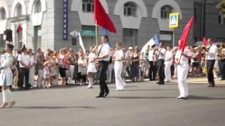 Кореневские музыканты на параде в Курске 23 августа 2013. Видео Кореневского района