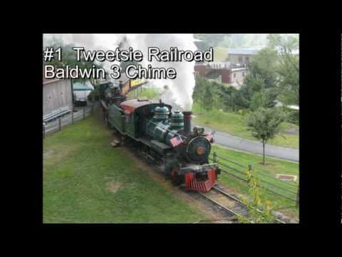Top 12 favorite steam whistle's