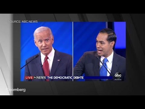 Democratic Debate: Julian Castro Questions Joe Biden's Memory