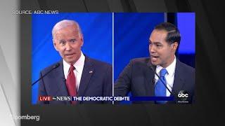 Democratic Debate Julian Castro Questions Joe Biden39;s Memory