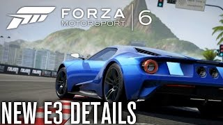 Forza Motorsport 6 | NEW TRAILER, RELEASE DATE & NEW CONTROLLER?