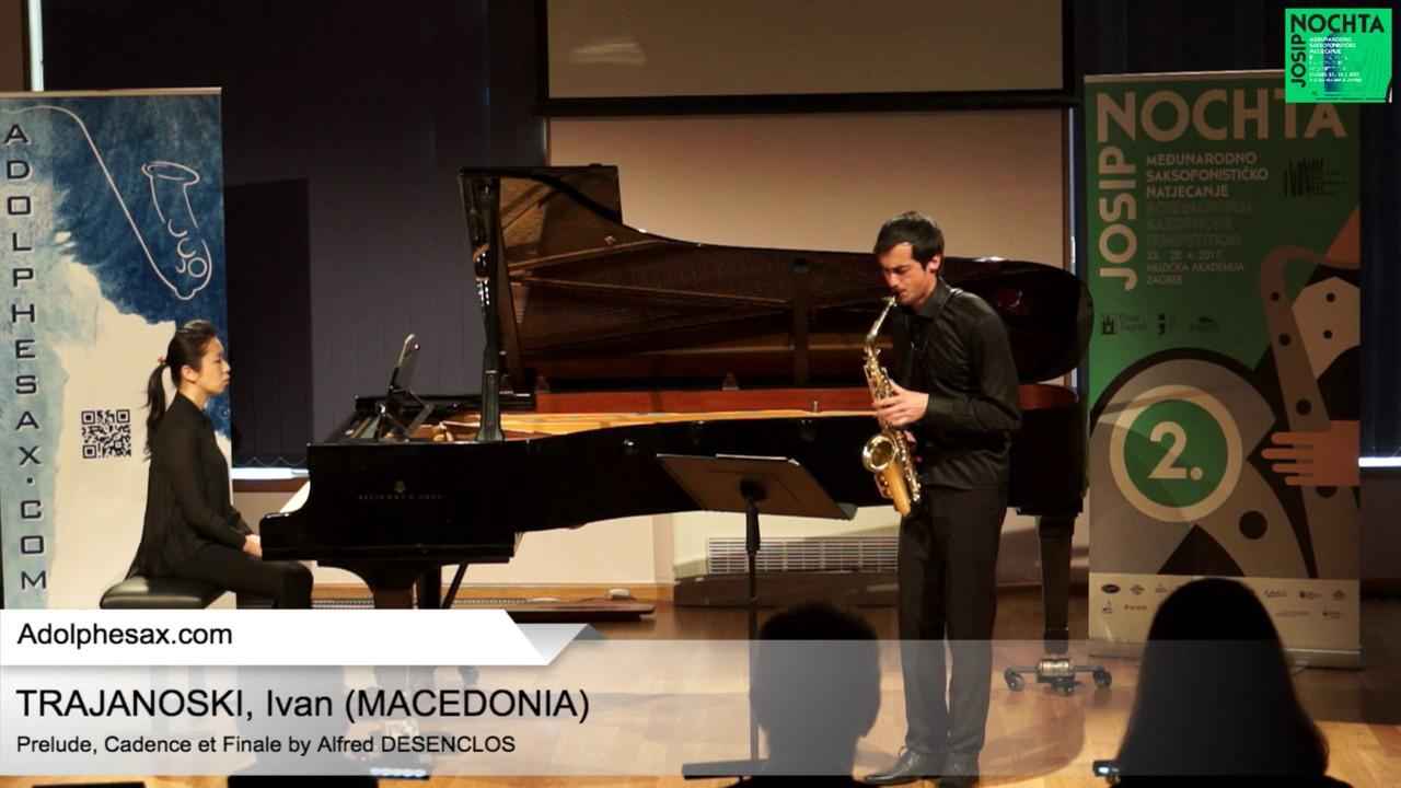 Prelude, Cadence et Finale by Alfred Desenclos – TRAJANOSKI, Ivan (Macedonia)