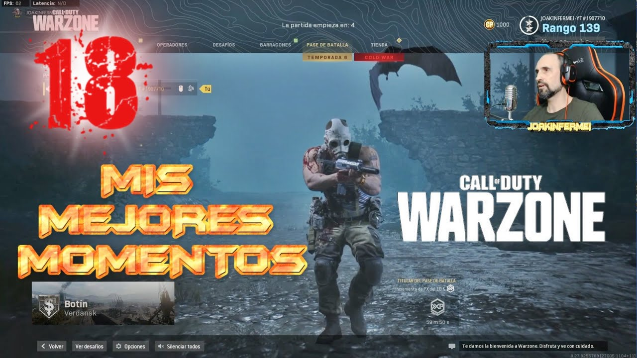 Call Of Duty Modern Warfare Warzone Pc Español Gameplay 18 Multijugador Game Juego Gratis Youtube