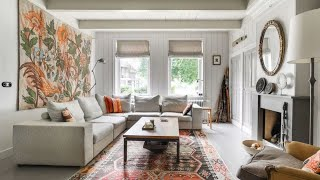 🍍 Match Of Scandinavian & Vintage Style In Old Home • Amsterdam
