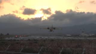Canadair CL-215 training flights