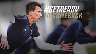#GETREADY TO COMEBACK! | The eve of Juventus-Atletico Madrid