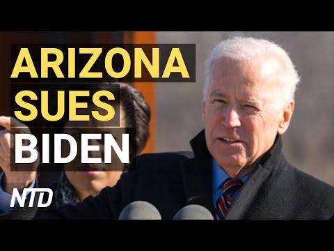 Arizona Sues Biden Admin.; Biden Insists on $1,400 Stimulus Checks; City Declares Donald Trump Week