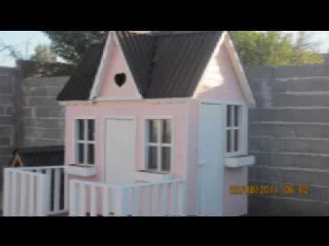 Casitas infantiles para ni os de madera youtube - Casitas de madera infantiles baratas ...
