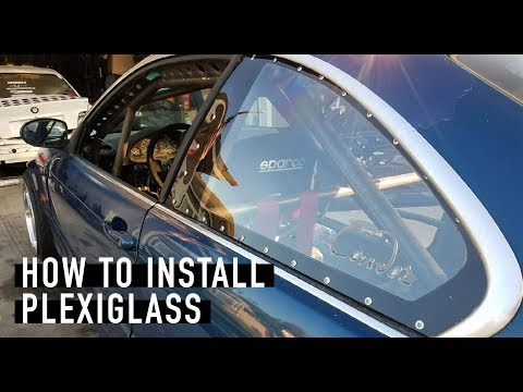 Plexiglass Window Install x E46 Hail Mary Build