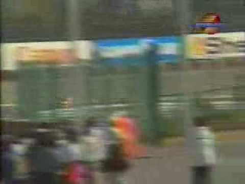 Senna Prost Crash 1990 Suzuka Reverse Angle
