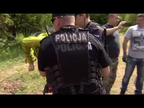 Policja siłą odciągała obrońców drzew w Puszczy Białowieskie