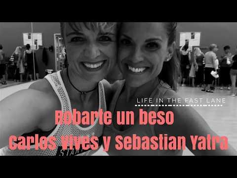 Carlos Vives, Sebastian YatraRobarte un Beso Zumba dance choreography