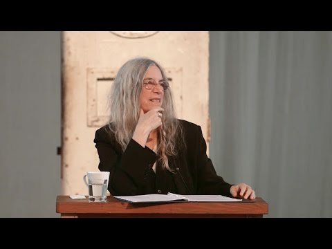 Oscar Wilde's De Profundis read by Patti Smith