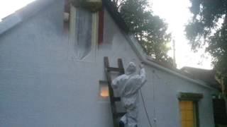 Окраска фасадов домов ч.2