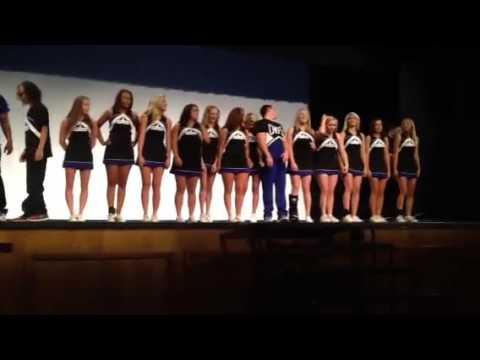 Sapulpa High School Cheer 2013 Howdy Assembly
