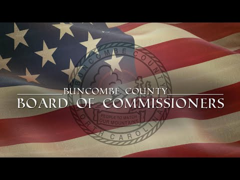 Buncombe County Board of Commissioners' Regular Meeting (August 21, 2018)