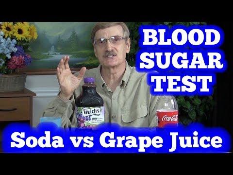 blood-sugar-test:-soda-(coca-cola)-vs-grape-juice