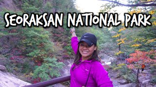 Vlog: Seoraksan National Park in the Fall- October 9, 2015